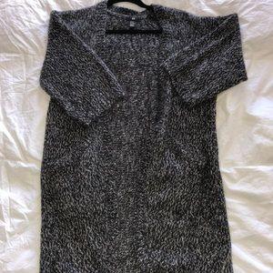 H&M- XS Cardigan S/S: BLACK, Grey & White-NWOT